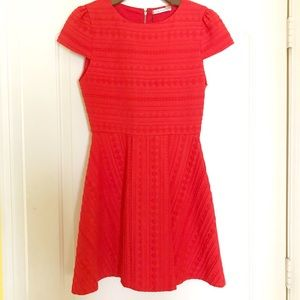NWT Poppy Shane Cap Sleeve A-line Dress